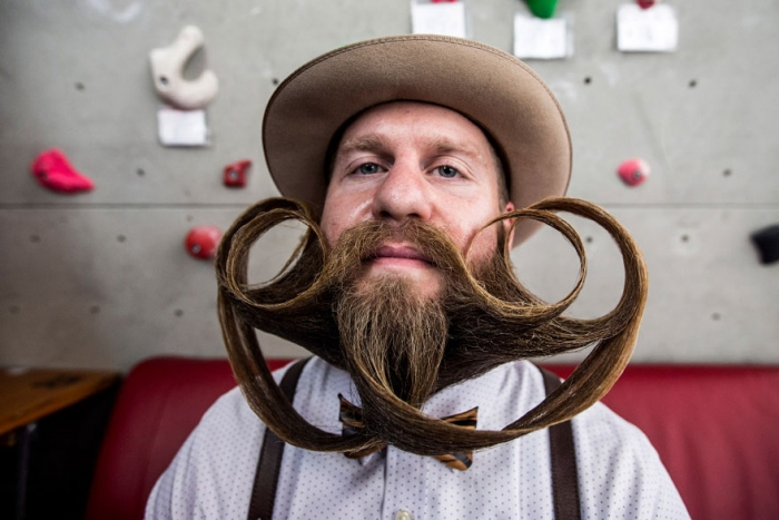 2015 World Beard And Moustache Championships participants 14
