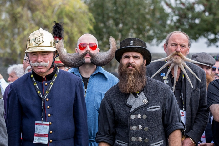 2015 World Beard And Moustache Championships participants 4
