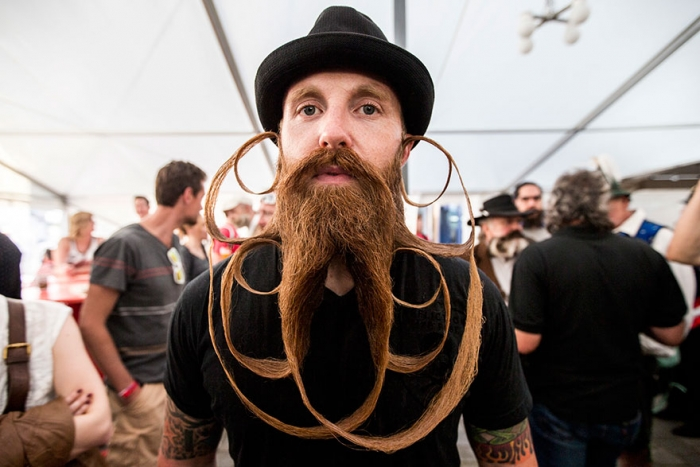 2015 World Beard And Moustache Championships participants 6