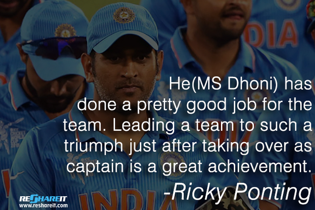 21 Quotes By Cricketers That Prove Ms Dhoni Is Indeed One Of The Best Cricketers India Has Ever Had