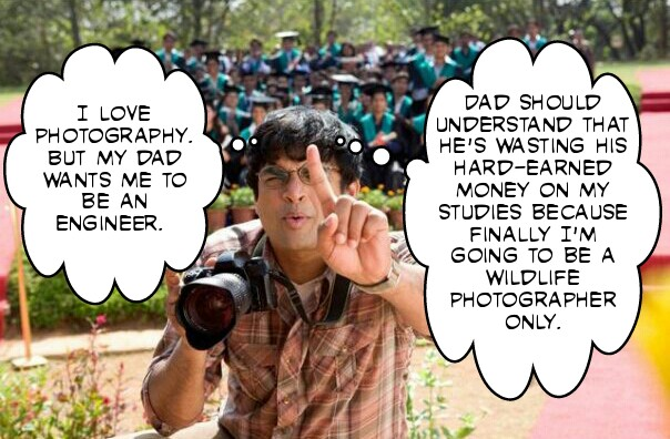 3 idiots photographer meme