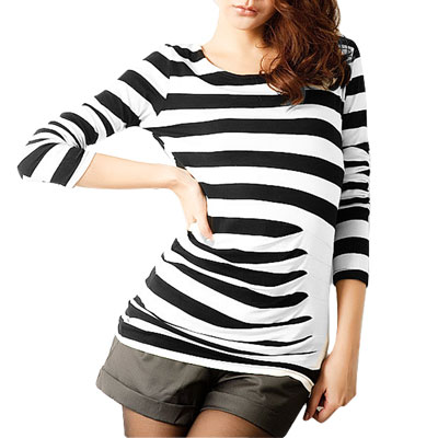 Striped Black And White Shirt