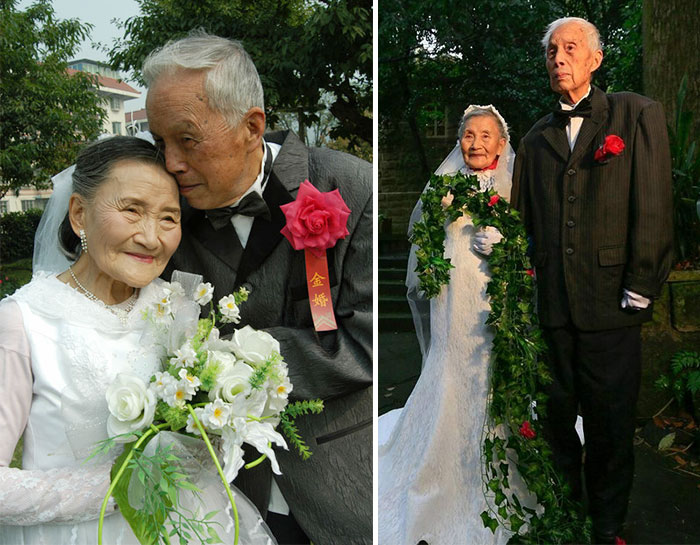 98-Year-Old Couple Recreate Their Wedding Day (3)