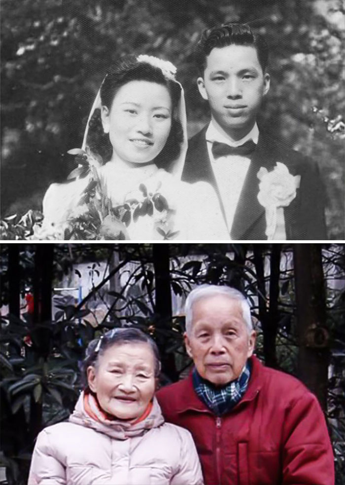 98-Year-Old Couple Recreate Their Wedding Day (4)