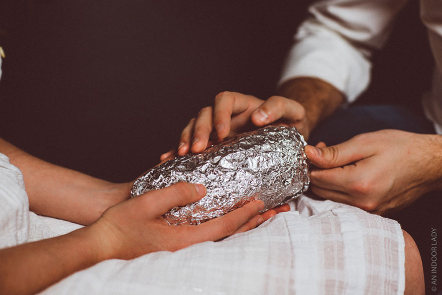 A Baby Photoshoot With A Burrito (10)