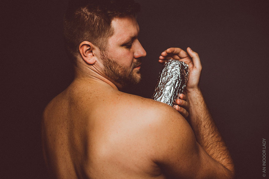 A Baby Photoshoot With A Burrito (8)