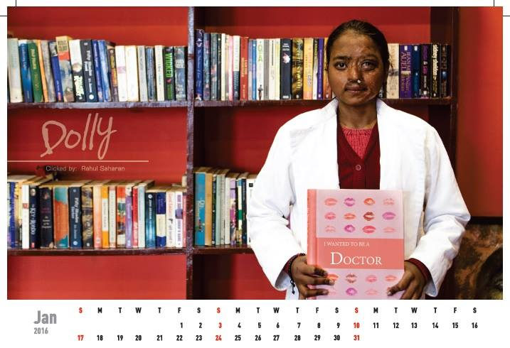 Acid attack fighters calender (11)