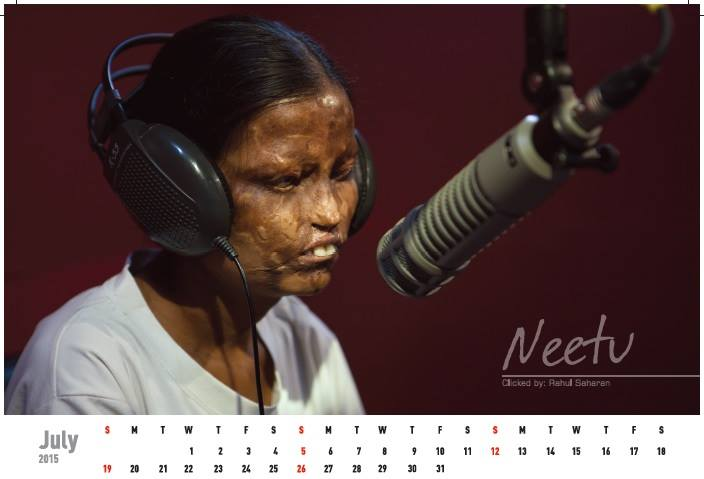 Acid attack fighters calender (12)