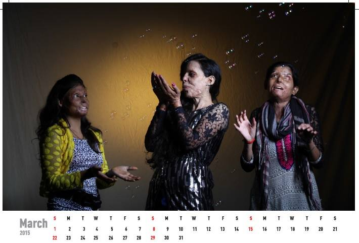 Acid attack fighters calender (2)