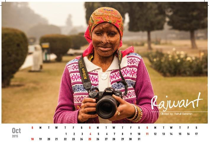 Acid attack fighters calender (5)
