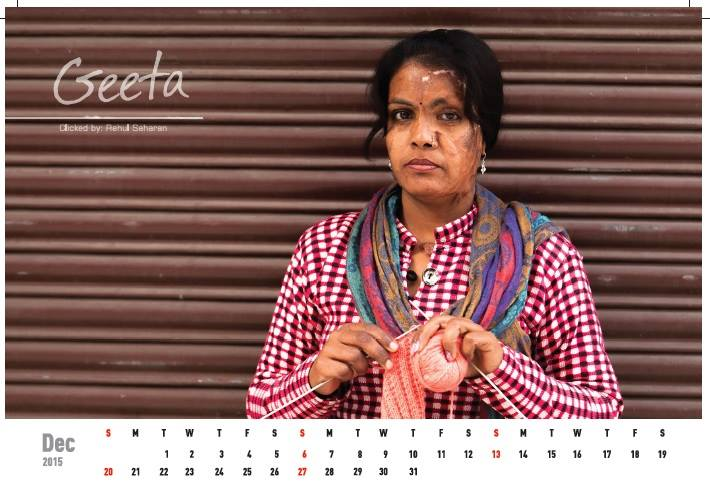 Acid attack fighters calender (9)