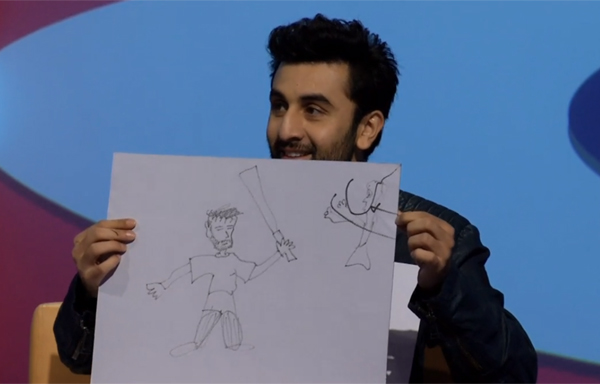 Anushka and Ranir draw Virat (5)