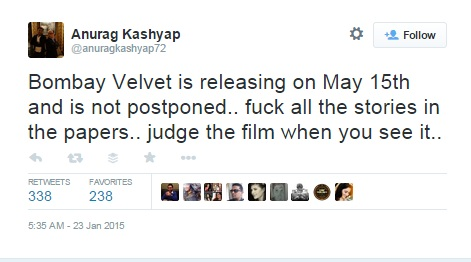 BV releases on 15th May