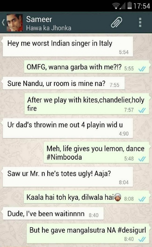 Bollywood Movie Plots Revealed In Hilarious WhatsApp Chats (5)