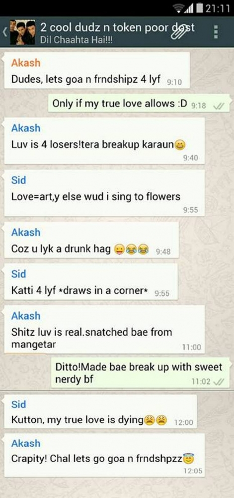 Bollywood Movie Plots Revealed In Hilarious WhatsApp Chats (7)