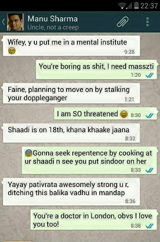 Bollywood Movie Plots Revealed In Hilarious WhatsApp Chats (9)