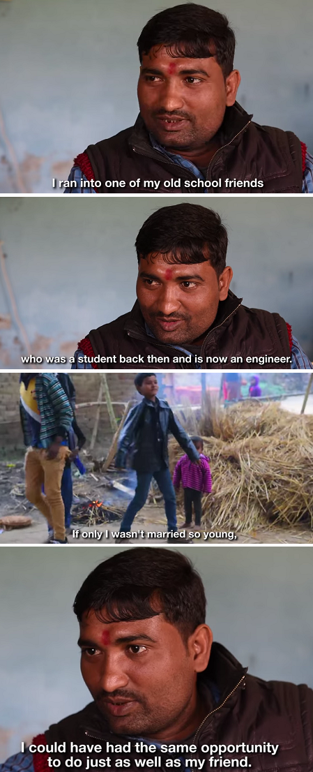 Child Grooms in Nepal Pannilal Yadav how boys are raised shares his story