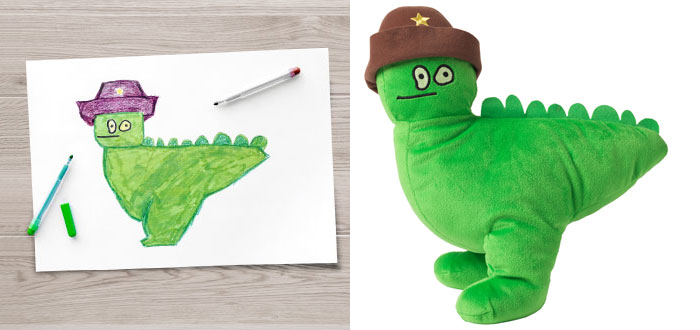Children's Drawings Into Real Plush Toys (1)