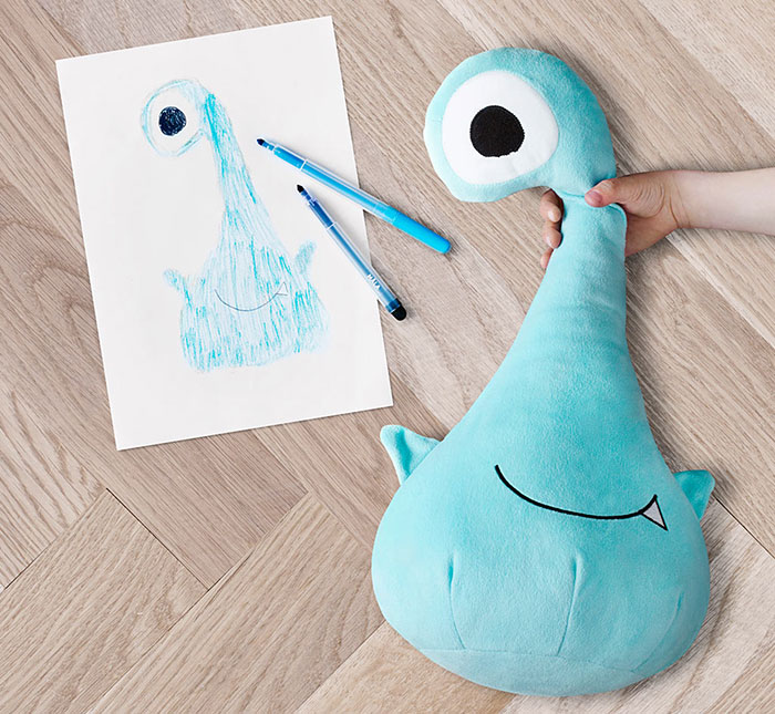 Children's Drawings Into Real Plush Toys (10)
