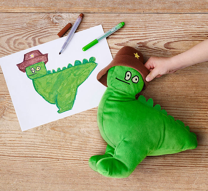 Children's Drawings Into Real Plush Toys (2)