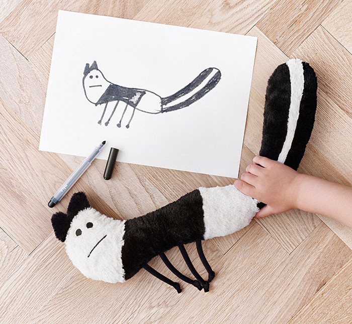 Children's Drawings Into Real Plush Toys (4)