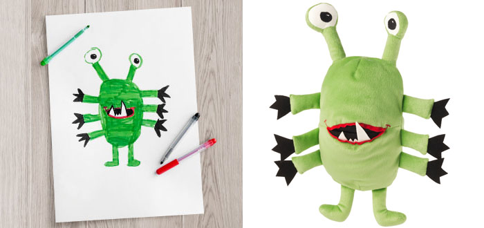 Children's Drawings Into Real Plush Toys (5)