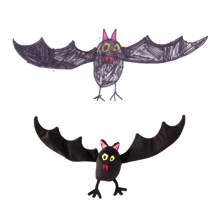 Children's Drawings Into Real Plush Toys (6)