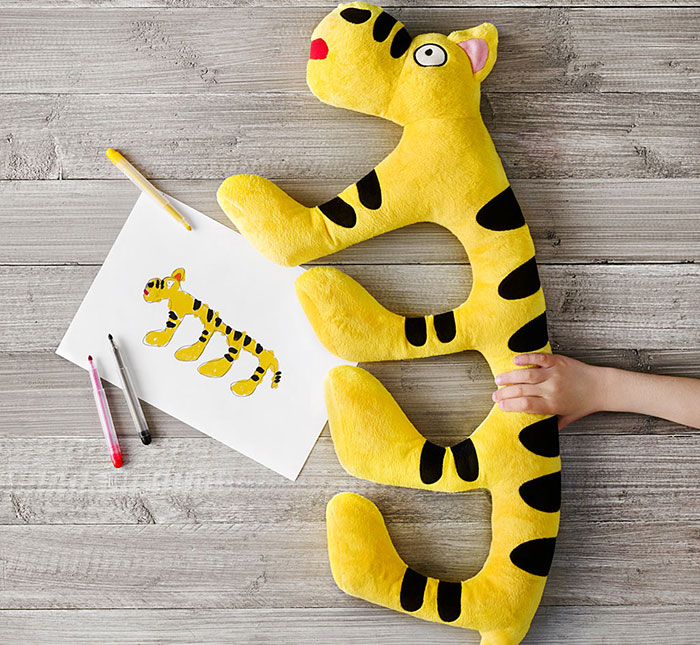 Children's Drawings Into Real Plush Toys (7)