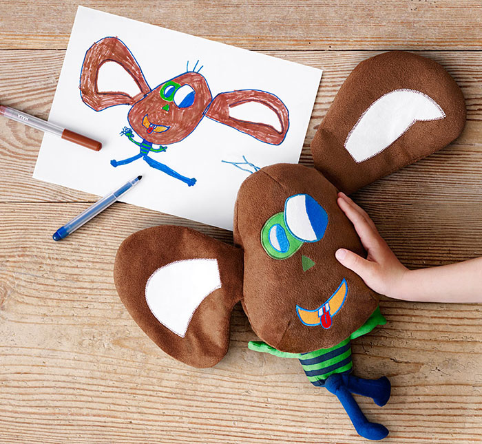 Children's Drawings Into Real Plush Toys (8)