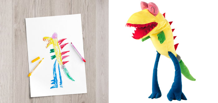 Children's Drawings Into Real Plush Toys (9)