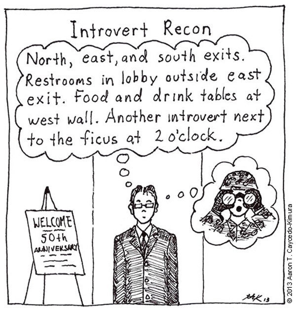 Comics That Perfectly Sum Up What It's Like To Be An Introvert (12)