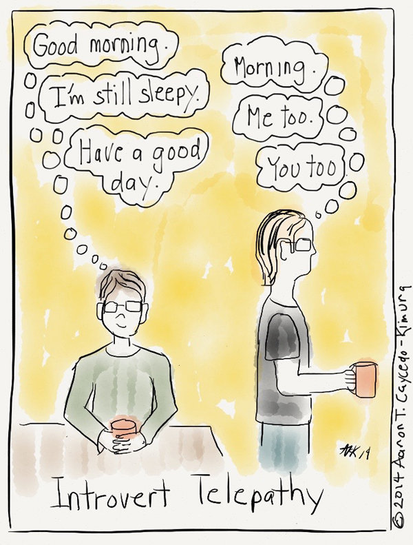 Comics That Perfectly Sum Up What It's Like To Be An Introvert (2)