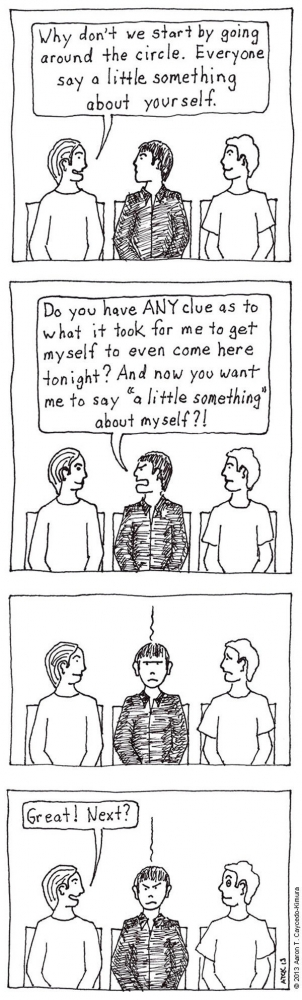 Comics That Perfectly Sum Up What It's Like To Be An Introvert (8)