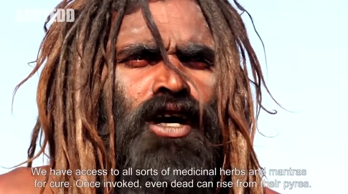 Confessions Of An Aghori Baba - access to herbs