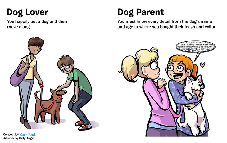 Differences Between Dog Lovers And Dog Parents (7)