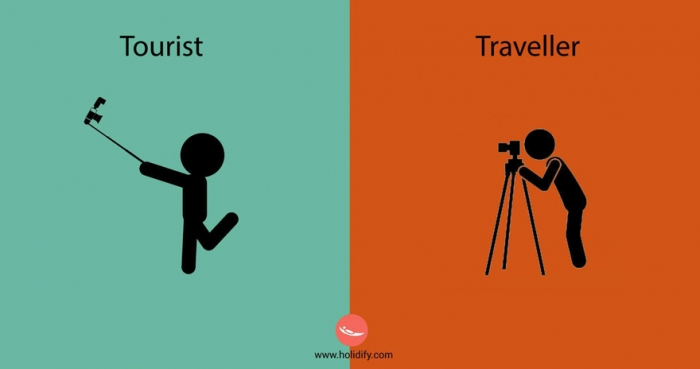Differences Between Tourists And Travellers (1)
