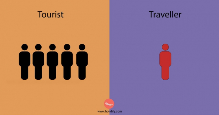 Differences Between Tourists And Travellers (2)