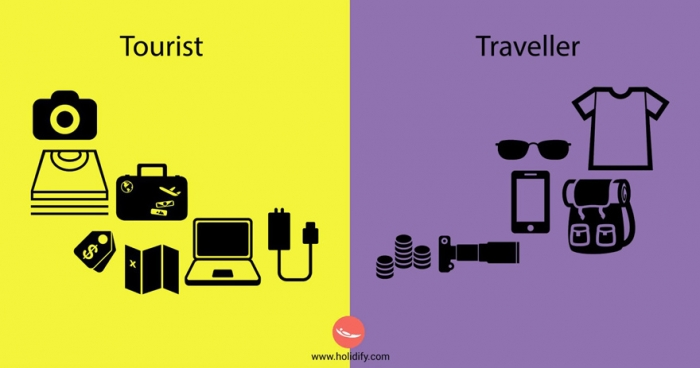 Differences Between Tourists And Travellers (5)