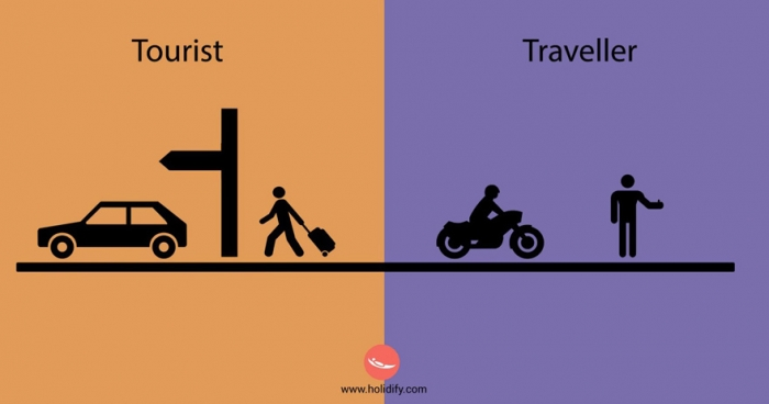 Differences Between Tourists And Travellers (9)