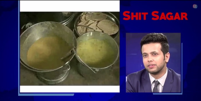 Disgusting mid day meal in India