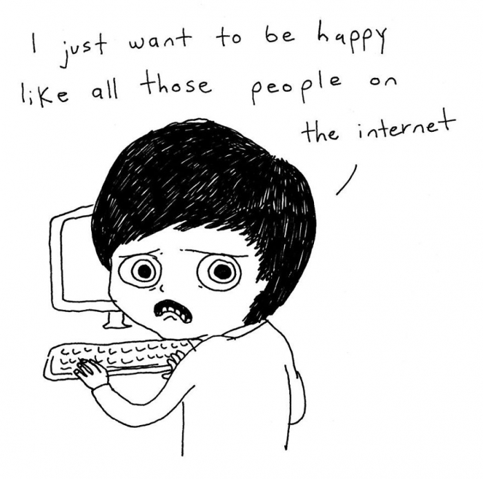 Emotional Cartoons To Handle Thoughts (13)