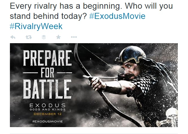 Every rivalry has a beginning. Exodus