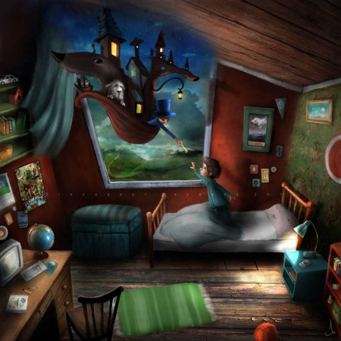 Fairytale-Like Illustrations (8)