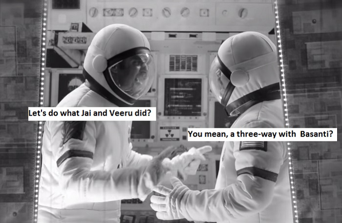 First Indian On The Moon jai and veeru
