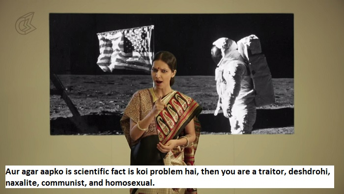 First Indian On The Moon -traitor