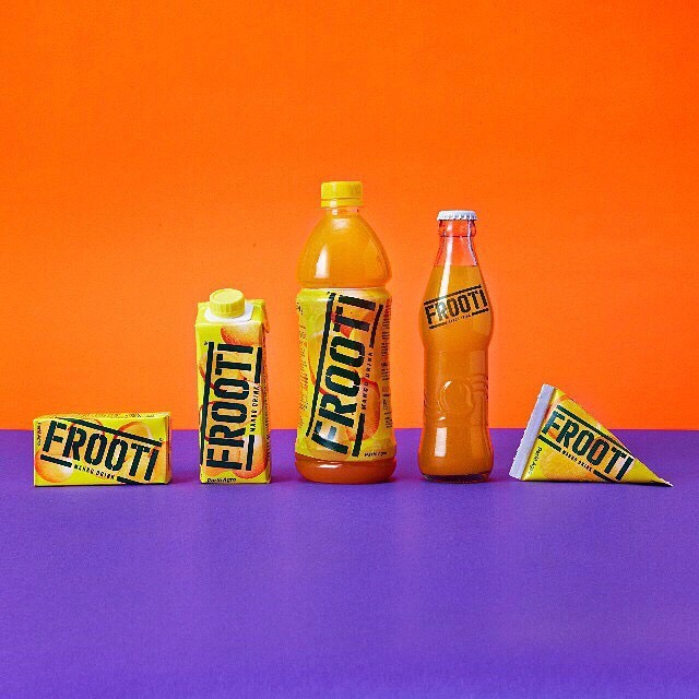 Frooti's new design