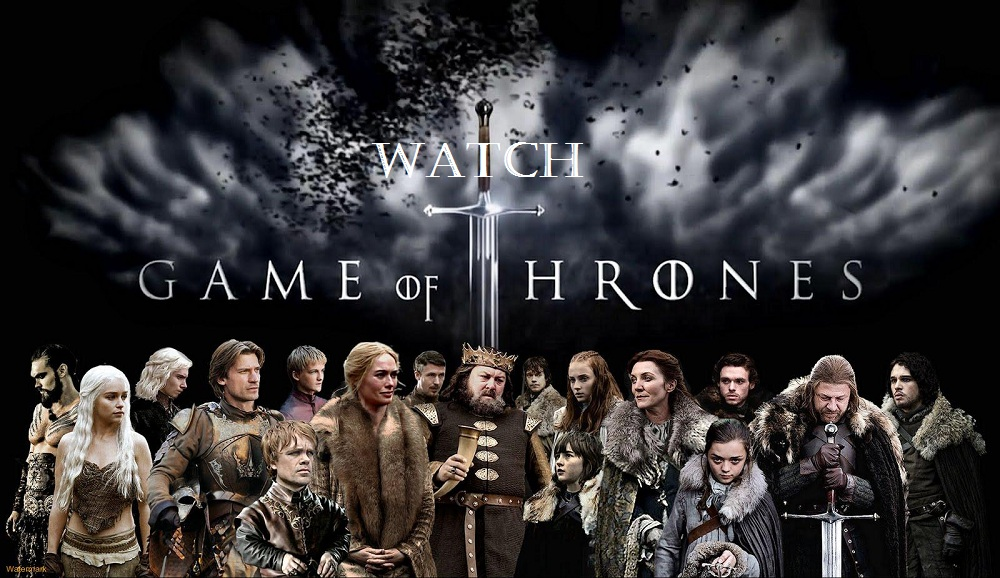 1. Watch game of thrones.