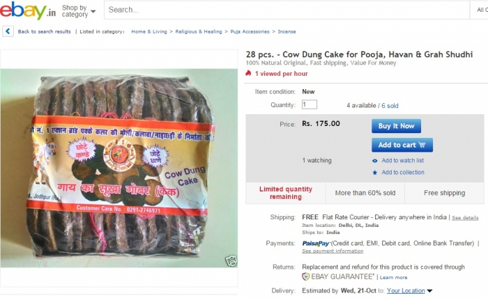 Holy Cow! What a time to be alive! You can now buy cow dung online (3)