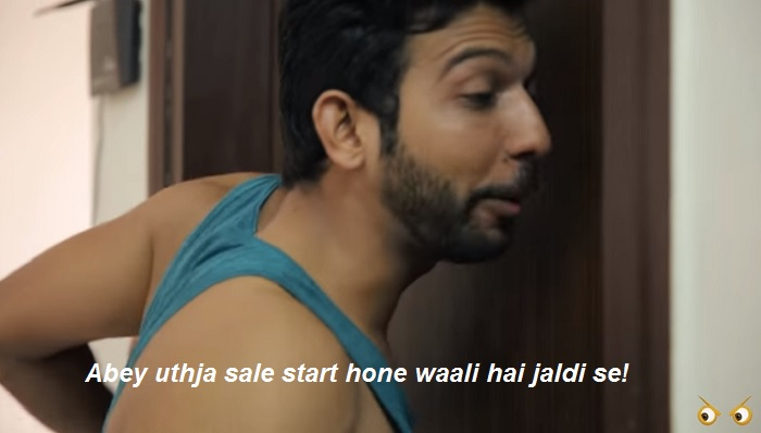 How India reacts to Online Sale- waking up early