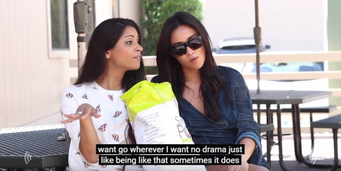 How Single Girls Discuss Relationships (ft. Shay Mitchell) (3)